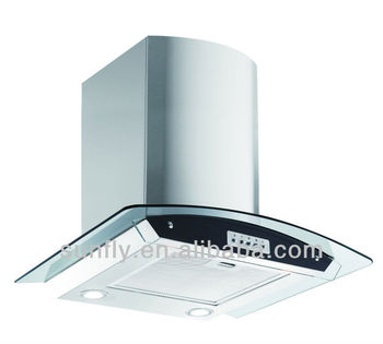 Wall Mounted Kitchen Smoke Extractor With CE And RoHS