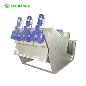 Advanced smart self cleaning anaerobic digested slurry dewatering screw press