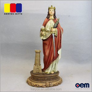 Customized Figure Theme Figurine Resin Lady Statues