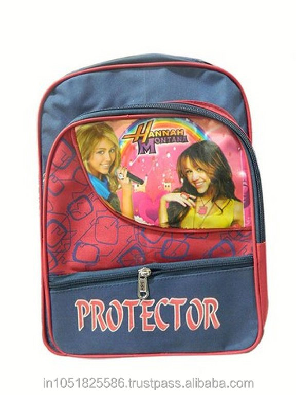 Hannah Montana Theme School Bags For kids