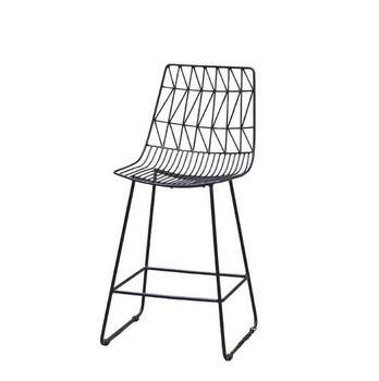 Low Price New Design Bar Stool High Harry Bertoia Wire Chair Betoria Metal Chiar