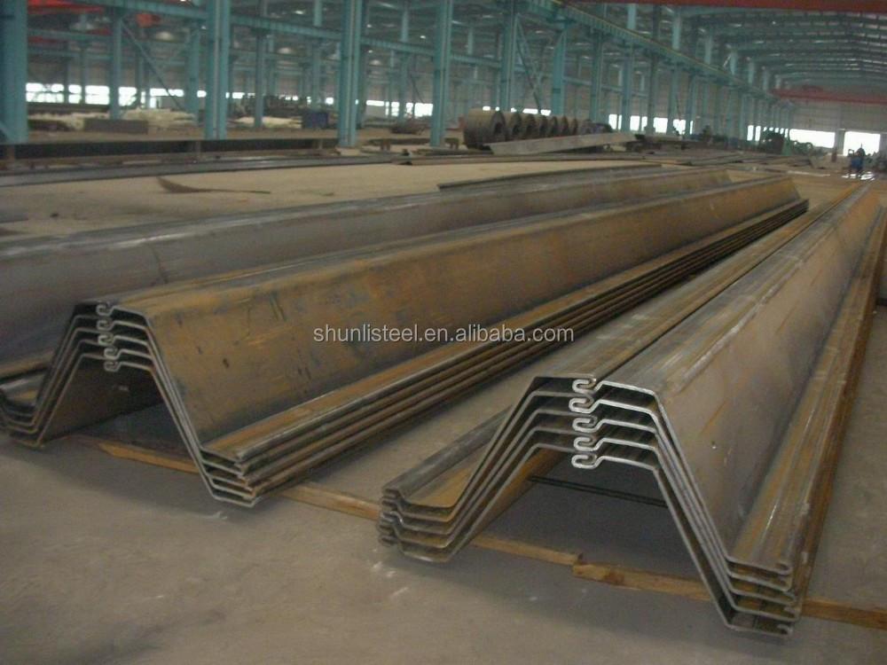 Z Steel Sheet Piles With S270gp,Q345b,S420gp..s430gp Z Sheet ...