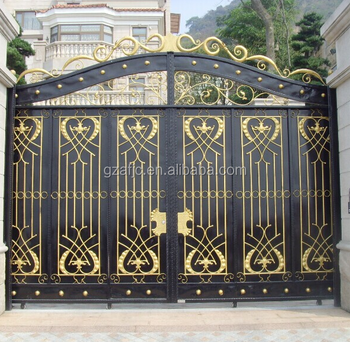 New Design Gate For Houses, Metal Home Gates, House Gate Designs
