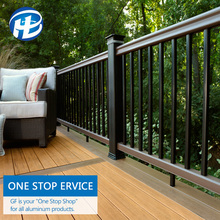 Add To Favorites Outdoor Railing Post Powder Coated Deck