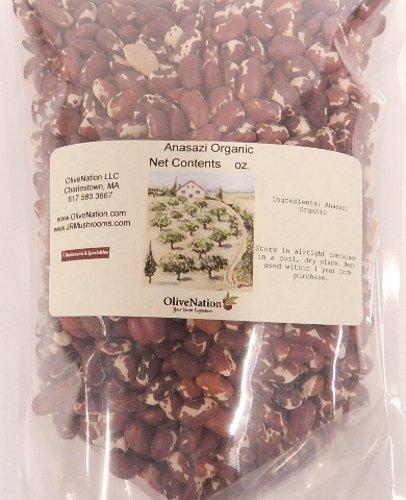 OliveNation Organic Anasazi Beans, 80 Ounce