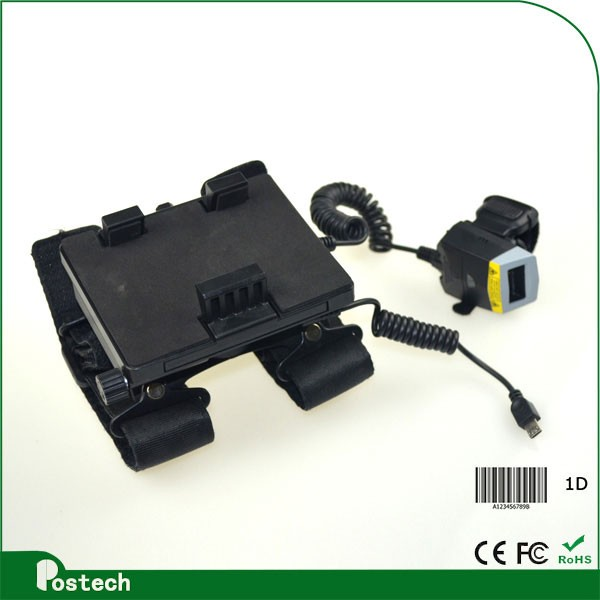 WT01 hands-free barcode creator compatible with mobile phones and tablet pc available in the market