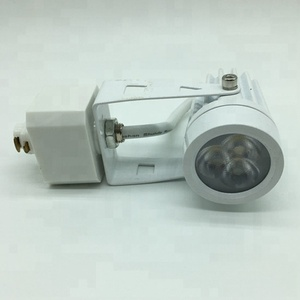 Cost-effective 3W track light head with 1.5m track rail for lighting project