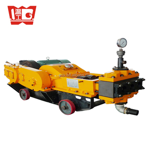 3 Piston high pressure cement mortar slurry grout inject pump grouting machine