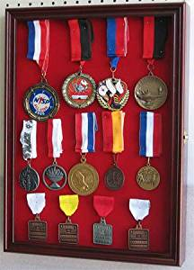 Good Get Quotations · Military Medals, Pins, Patches, Insignia, Ribbons Display  Case Cabinet MPC01(