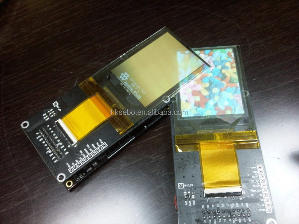 2.4inch transparent oled screen 240*320 resolution TP241MC01G