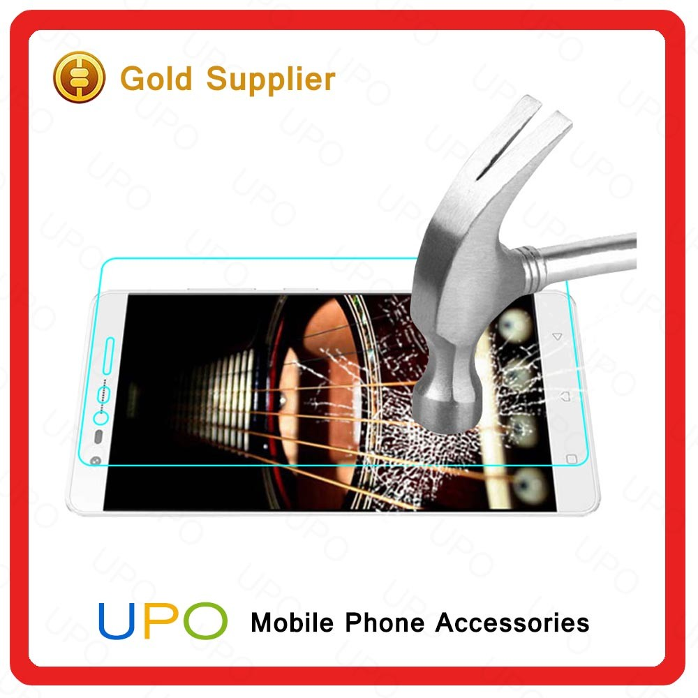 [UPO] 9H 2.5D antishock Explosion-proof whole transparency tempered glass Screen protector For Lenovo K5 note