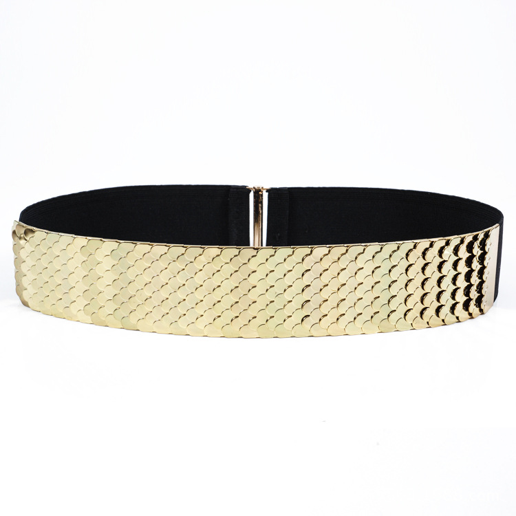 KDA8893 wholesale luxury gold waist chain belt for girls