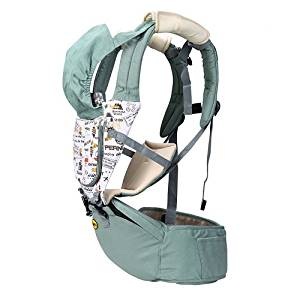 bad3c3af220 Get Quotations · Ultralight 3-in-1 Cool Air Mesh Baby Carrier 360°  Ergonomic Baby
