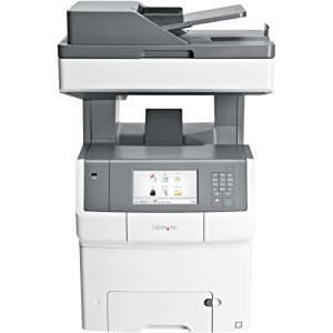 Lexmark X740 X748DE Laser Multifunction Printer - Color - Plain Paper Print - Desktop - Copier/Fax/Printer/Scanner - 35 ppm Mono/35 ppm Color Print - 2400 x 600 dpi Print - 35 cpm Mono/35 cpm Color Copy - Touchscreen - 600 dpi Optical Scan - Automatic Duplex Print - 650 sheets Input - Gigabit