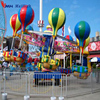 Attractions for children playground rotary samba balloon ride with trailer