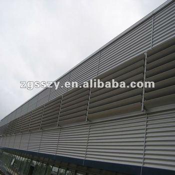 Automatic Aluminum Profile Louver Blinds/exterior Aluminum Blind ...