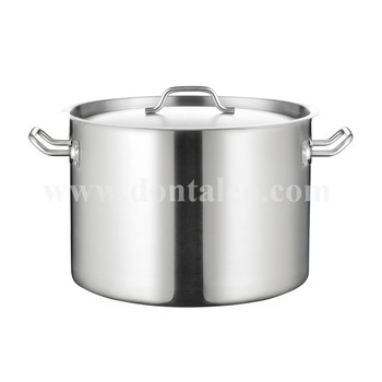 30l Stainless Steel Stock Pot
