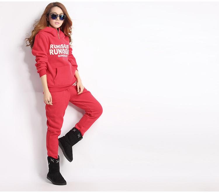 Get Quotations · Free Shipping 2015 Newest Ladies Size Sports Hoodies Coat  Vest Pants 3pcs Suit Tracksuit Womens Hoodies 4daf31ddd238