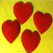 3d Red Felt Heart Valentines Love Card Making Scrapbooking Embellishments