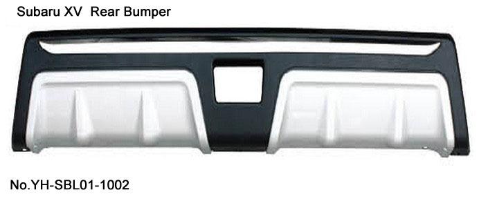Quality ! SUBARU XV Rear Bumper Guard Chrome ABS replacement