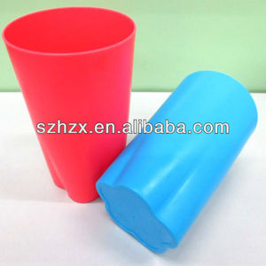 Portable easy wash special design plastic festival cup