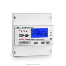 Direct metering up to 65A mbus mechanical three phase kwh meter