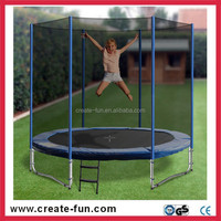 CreateFun Auchan CE certificate 8ft kids garden trampoline for wholesale