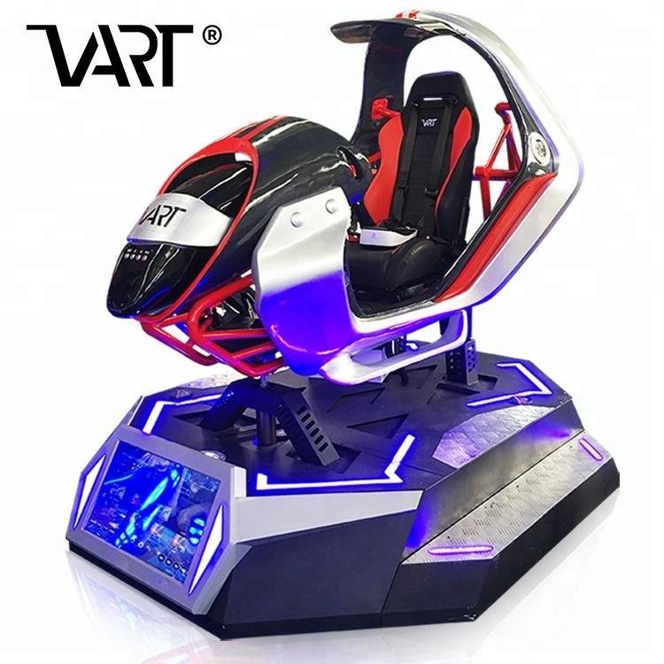 Cool Patent Design 9D VR Car Driving Training Simulator
