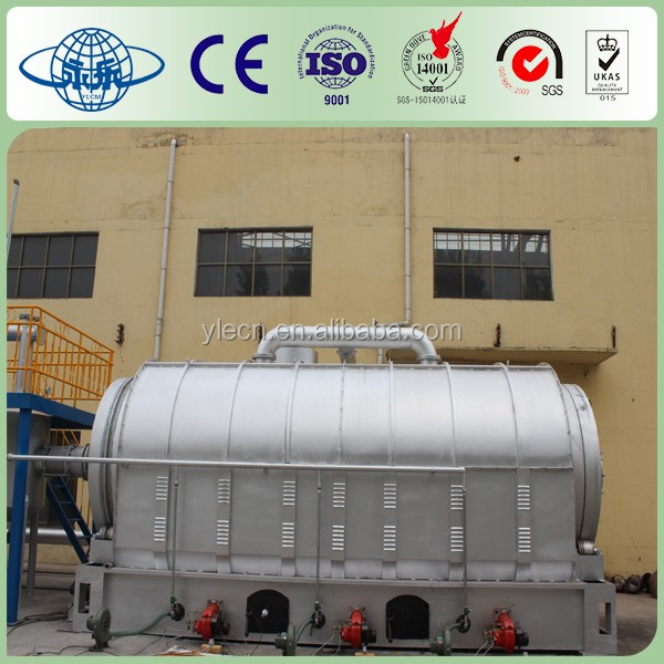 Yongle Huayin Waste tyre reprocessing to pyrolytic oil
