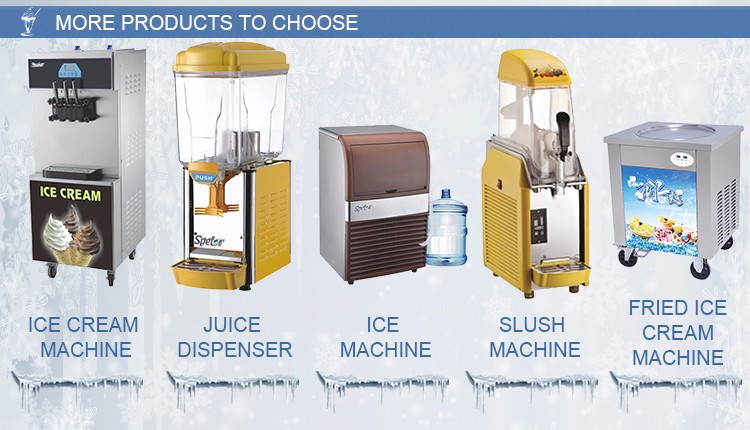 Factory Direct Sale Soft Ice Cream Machine Of Lowest Price