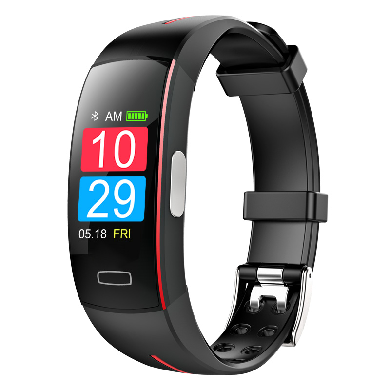 Oem Sport Wearable Devices Waterproof Blue Tooth Elderly Heart Rate With Blood Pressure Smart Bracelet