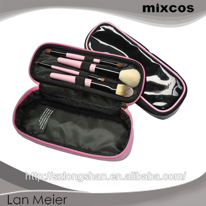 China wholesale fashional cosmetic brush 4pcs makeup brush set professional