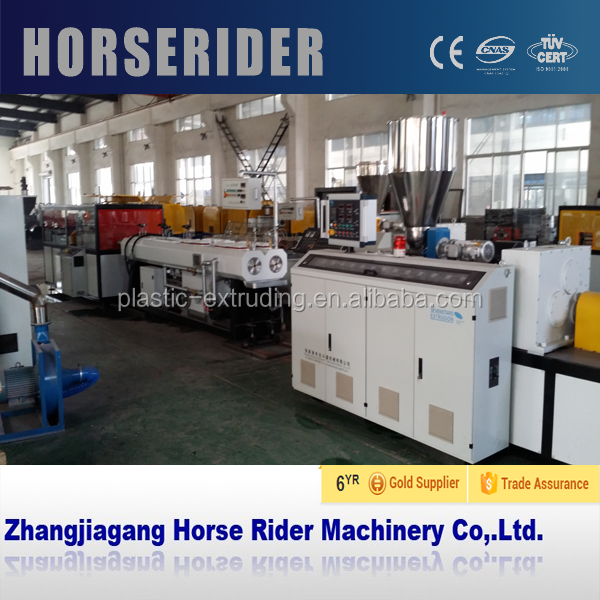 HorseRider High Quality and New Technology PVC extruding line