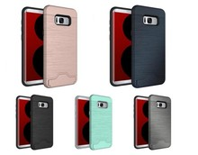 Practical Credit Card Slot Phone Case Cover for Samsung Galaxy S8 Plus