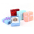 4*4 cm Jewelry Box Earrings Rings Storage Cute Box 4 Colors Small Gift Box