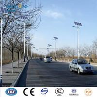40W Led lamp 6M high outdoor street light , solar street light galvanized powder coated pole