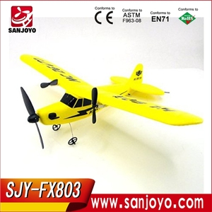 Gift Toy FX803 2CH Channel Radio Remote Control RC Airplane 100 Meter Remote Control 3D Flying Glider