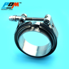 Standard Exhaust V Band Clamp With Flat Flanges