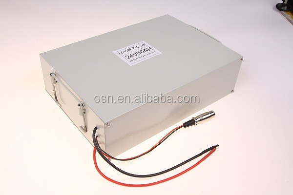 NEW!!LiFePO4 Battery Pack 24V 50Ah for AGV New for 2016