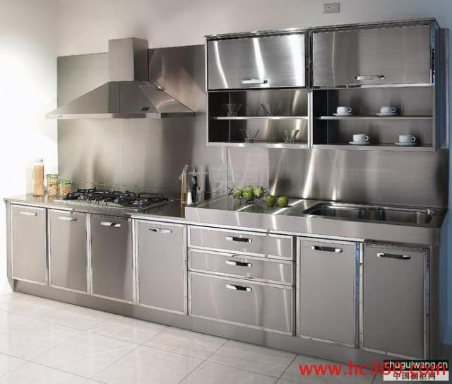 Commercial Kitchen Stainless Steel Wall