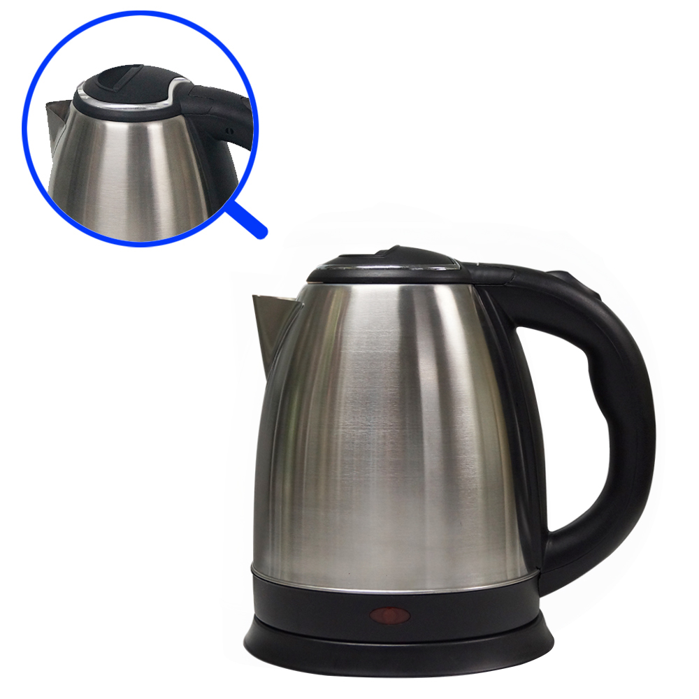 CE approval 1.5L Stainless steel cordless electric tea kettle