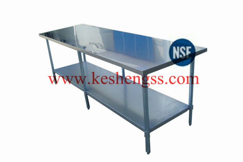 nsf stainless kitchen tables