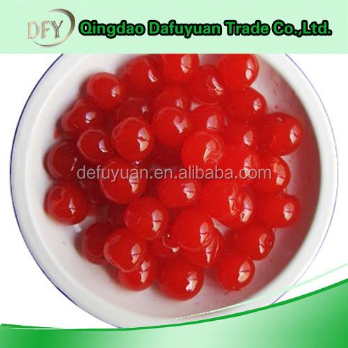 China healthy canned cherry in syrup canned fruit
