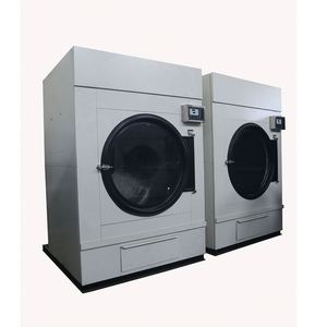 150kg steam heating rotary tumble dryer,industrial laundry machine
