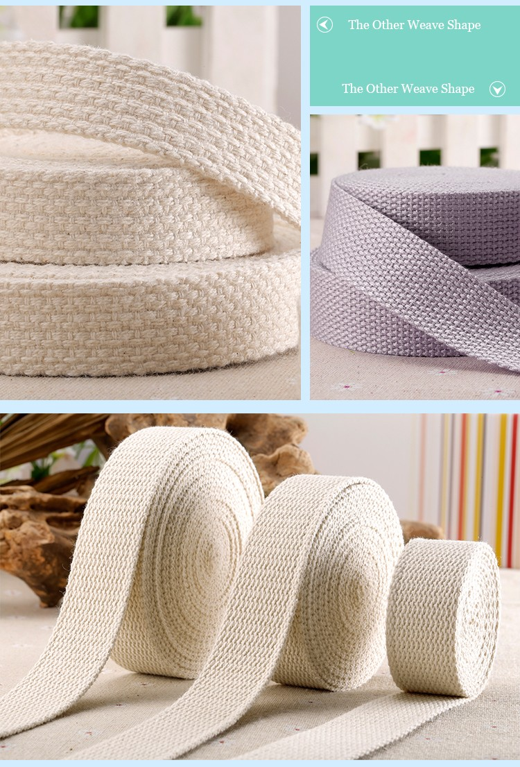 Hot Sell High Quality Cotton Twill Tape,Cotton Herringbone Webbing Tape In China