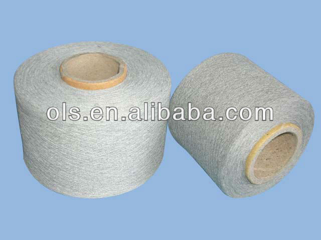 Recycling Cotton/Polyester Yarn Wast