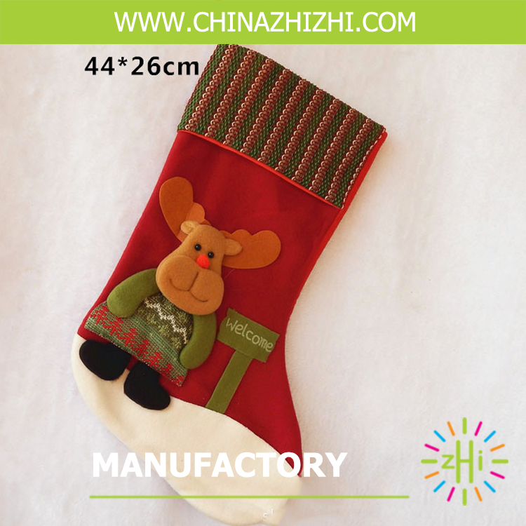 holiday hanging gift Christmas stocking lovely Christmas gift stocking