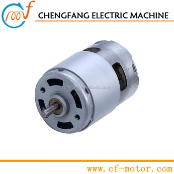 24v dc heavy duty motor rs 755sh for battery operated for Heavy duty dc motor