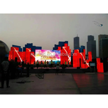 Shenzhen Maan Led display P3.91 Tricolor Indoor / outdoor LED Display Screen