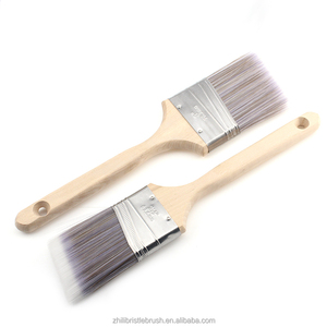 Good Quality Synthetic filaments angled sash Paint Brush